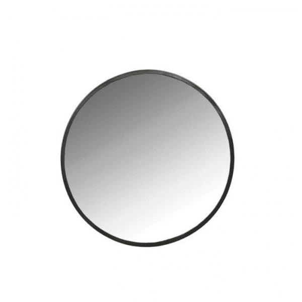 מראה עגולה שחורה