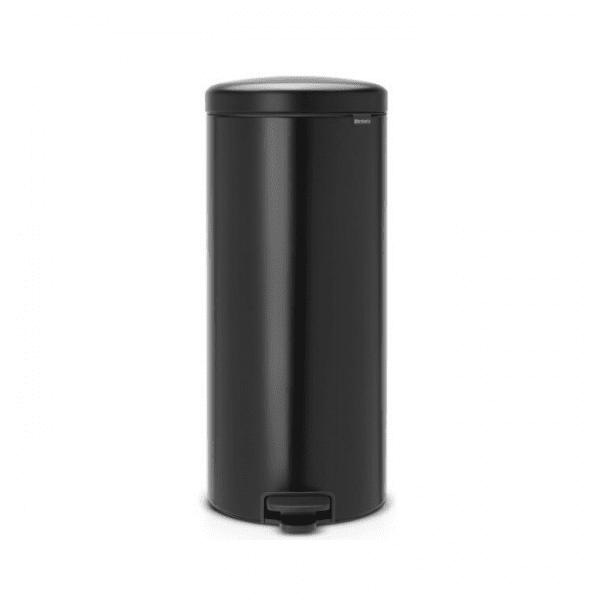 פח אשפה שחור 30 ליטר